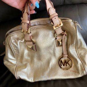 Authentic MK gold purse